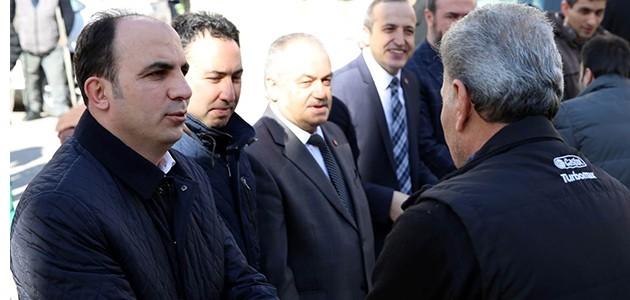 Başkan Altay, vatandaşla buluştu