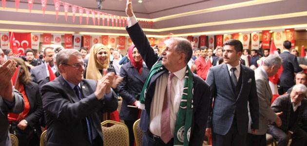Ümit Özdağ Konya'da konuştu: Ben genel başkan olursam...