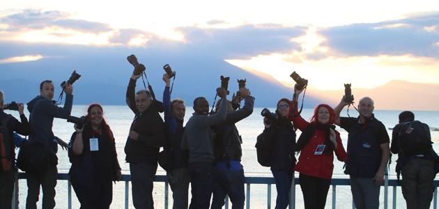 İslam ülkelerinden fotoğrafçılar Beyşehir'de