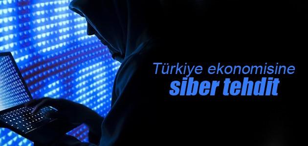 """Türkiye ekonomisine """"siber"""" tehdit"""