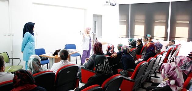 Beyşehir Devlet Hastanesine gebe okulu açıldı