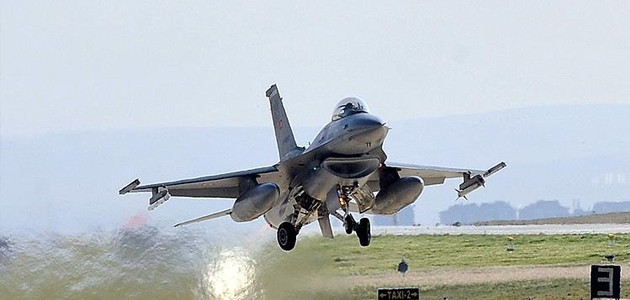 TSK: Irak'ın kuzeyinde 16 hedef imha edildi