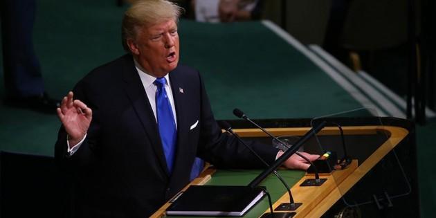 Trump: Ürdün, Türkiye ve Lübnan'a teşekkür ediyoruz