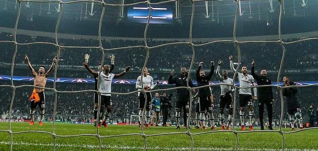 Beşiktaş'ta Şampiyonlar Ligi keyfi