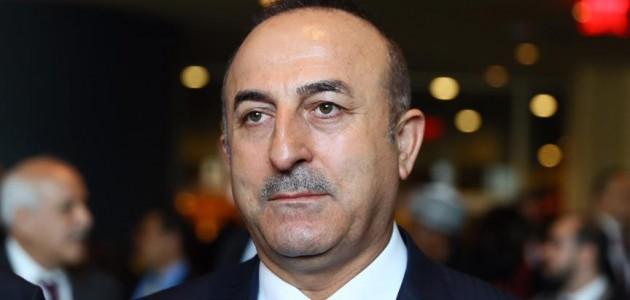 Dışişleri Bakanı Çavuşoğlu: Bir müttefike yakışmayan gereksiz tavırlarla uğraşmamamız lazım