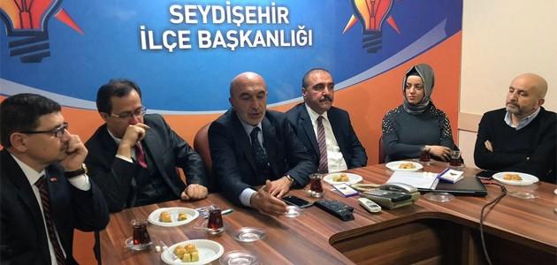 AK Parti Konya İl Başkanı Angı'dan ziyaret