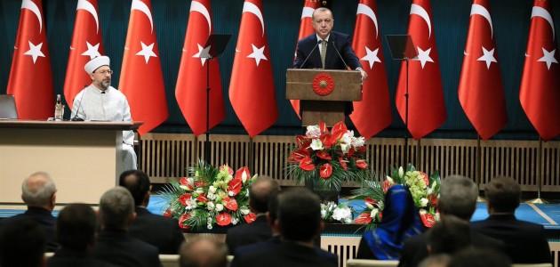 Erdoğan il müftülerine seslendi: İşi hiç hafife almayalım