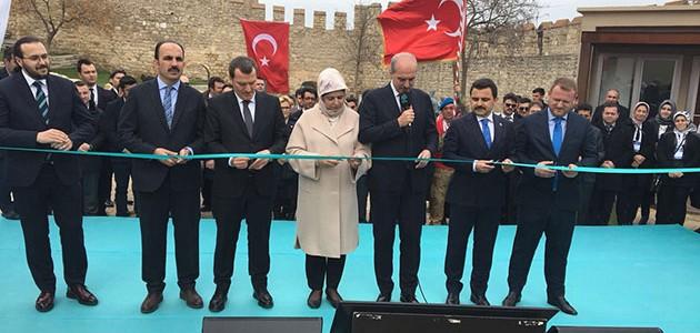 Selçuklu'nun restore ettiği müzeyi Erdoğan açtı!