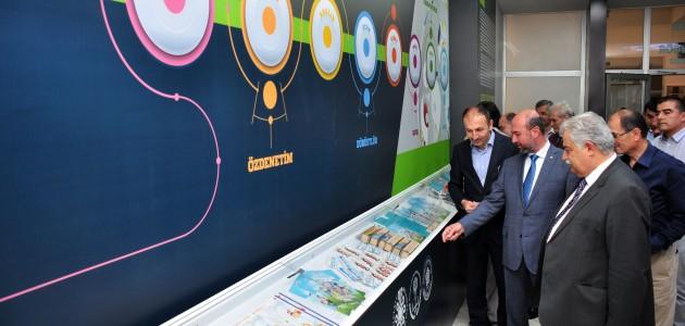 NEÜ'de SEDEP kalıcı sergisi açıldı