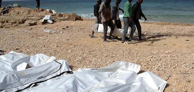 Libya kıyılarında 6 göçmenin cesedi bulundu