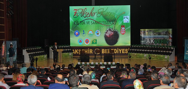 Akşehir'de kiraz festivali düzenlendi
