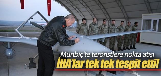 Münbiç'teki teröristlere nokta atışı