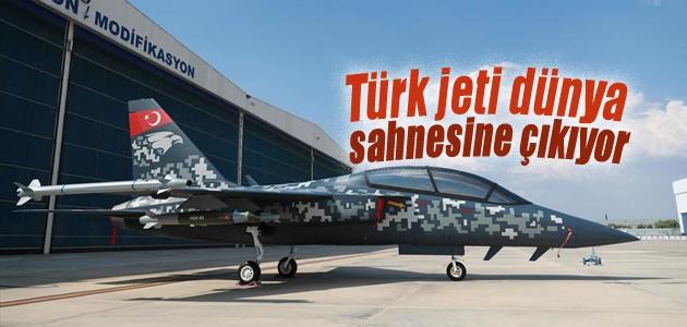 Türk jeti dünya sahnesine çıkıyor