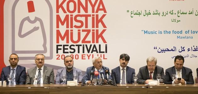 Konya 15. Mistik Müzik Festivali'ne hazırlanıyor! İşte konser programı