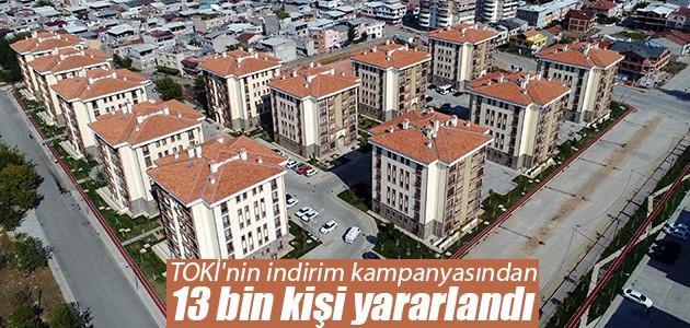 TOKİ'nin indirim kampanyasından 13 bin kişi yararlandı