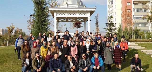 KOMEK fotoğrafçılık kursiyerleri Ecdat Parkını fotoğrafladı