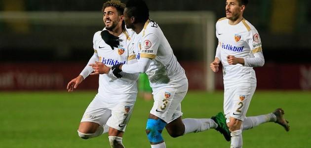 Kayserispor'dan kupada galibiyet