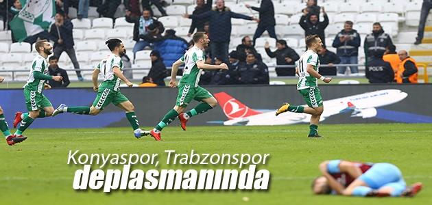 Konyaspor, Trabzonspor deplasmanında