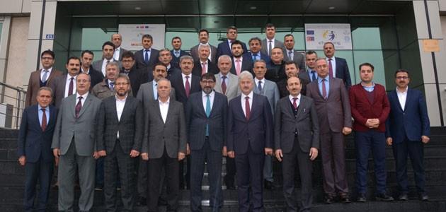 Konya'da ilçe milli eğitim müdürleri toplantısı gerçekleştirildi