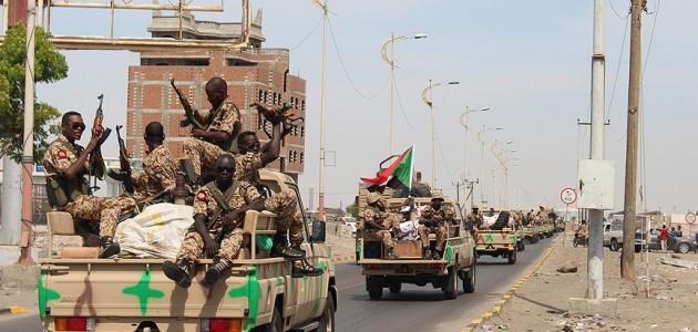 Sudan Yemen'deki koalisyon güçlerine desteğe hazır