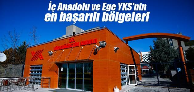 İç Anadolu ve Ege YKS'nin en başarılı bölgeleri