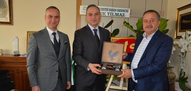 Konyaspor'dan Prof. Dr. Zekeriya Mızırak'a ziyaret