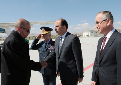 Cumhurbaşkanı Erdoğan Konya'da