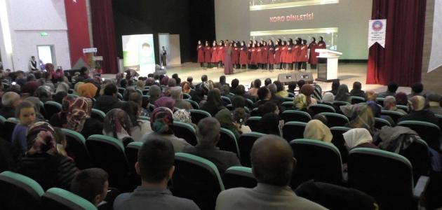 Beyşehir'de 3 aylar gecesi programı