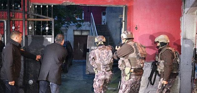 Adana merkezli uyuşturucu operasyonu: 39 gözaltı