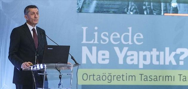 Milli Eğitim Bakanı Selçuk: Liselerde ders sayısı düşürülüyor