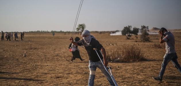 İsrail barışçıl gösteriye saldırdı!