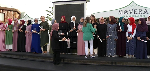 Mahmut Sami'de mezuniyet heyecanı