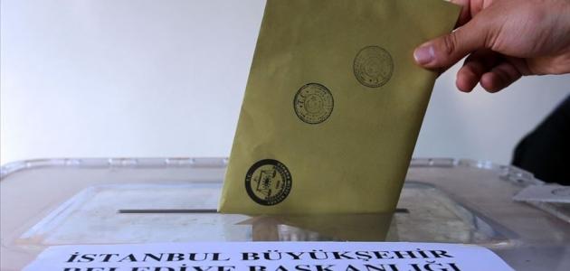 İstanbul'da oy verme işlemi tamamlandı
