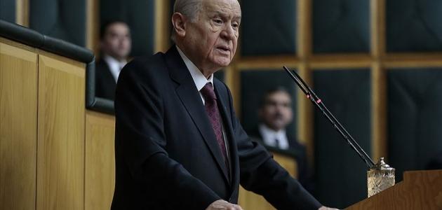 Bahçeli: MHP'nin terörizme bakışı nettir ve değişmesi imkansızdır
