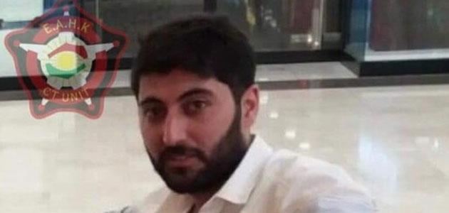 Erbil Emniyet Müdürlüğü, saldırganın fotoğrafını yayınladı