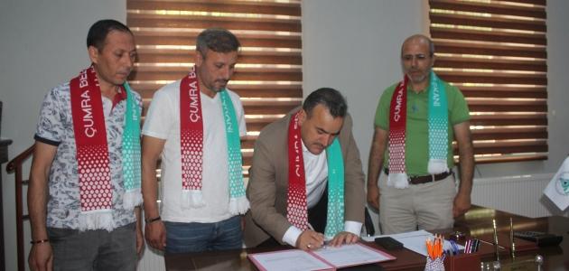 Çatalhöyük Çumra Belediye Spor Kulübü Derviş Deniz'le anlaştı