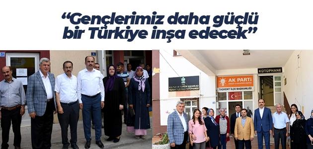 Başkan Altay: Gençlerimiz daha güçlü bir Türkiye inşa edecek