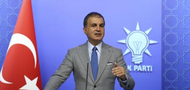 AK Parti Sözcüsü Çelik: Türkiye'nin önünde seçim yok