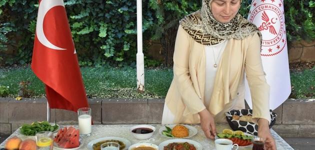 Sağlık Bakanlığı'ndan 'sağlıklı bayram sofrası' önerileri