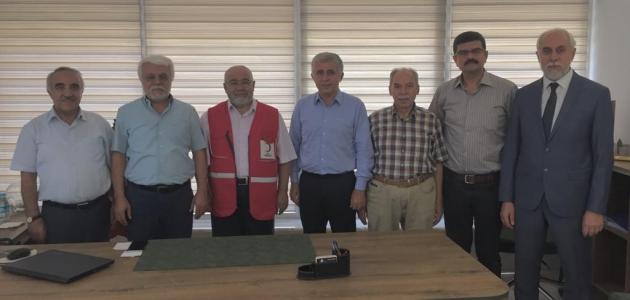 KONTV Yönetim Kurulundan Kızılay Konya Şubesine iadei ziyaret