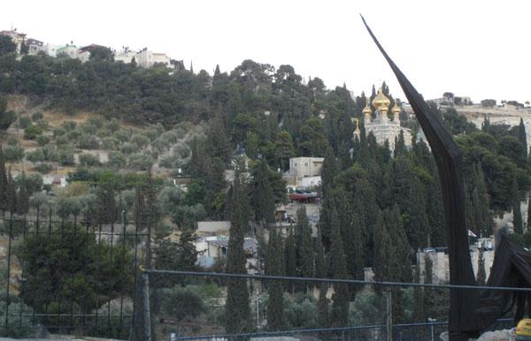 5 - Gömülmek için servet verilen kutsal dağ, Zeytin Dağı