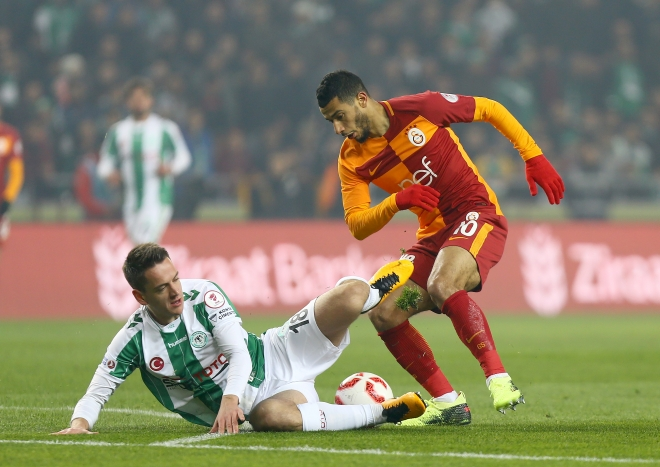Konyaspor Galatasaray maçından kareler