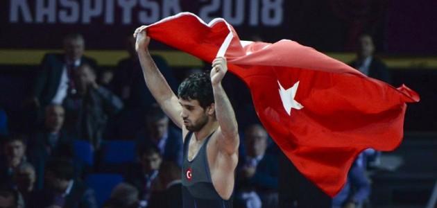 Avrupa Güreş Şampiyonası'nda Ekrem Öztürk'ten bronz madalya