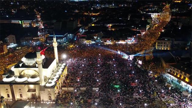15 Temmuz'un yıl dönümünde Mevlana Meydanı'nda büyük buluşma!