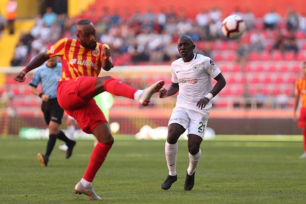 Konyaspor, Kayserispor deplasmanında