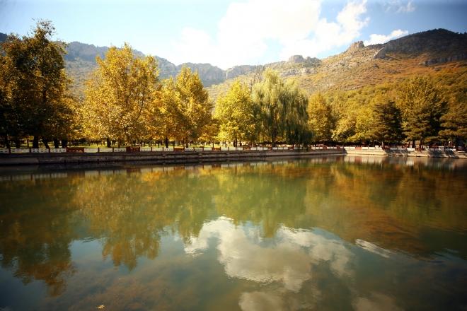 Küpe Dağı'nda sonbahar