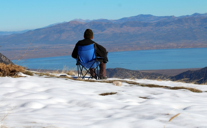 Toros yaylalarında kar manzaraları