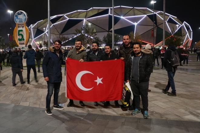 Konya'daki milli maçtan kareler