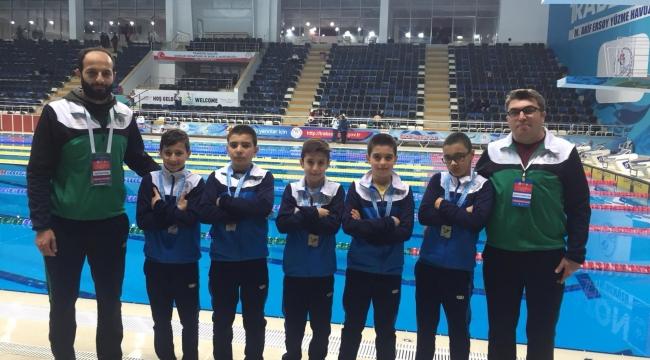 Selçuklu Belediyespor'dan yüzmede 5 madalya