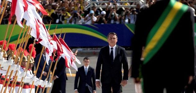 Brezilya'nın yeni Devlet Başkanı Bolsonaro yemin etti